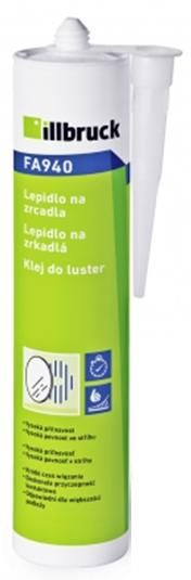FA940 Lepidlo na zrcadla transparent 310 ml Tremco illbruck