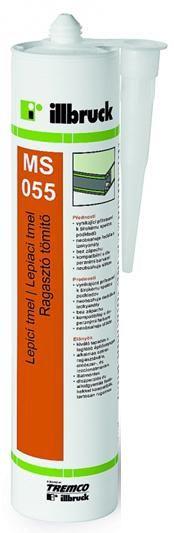 MS055 Elastické lepidlo bílý 290 ml Tremco illbruck