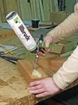 PU108 PUR lepidlo na dřevo D4 750 ml Tremco illbruck