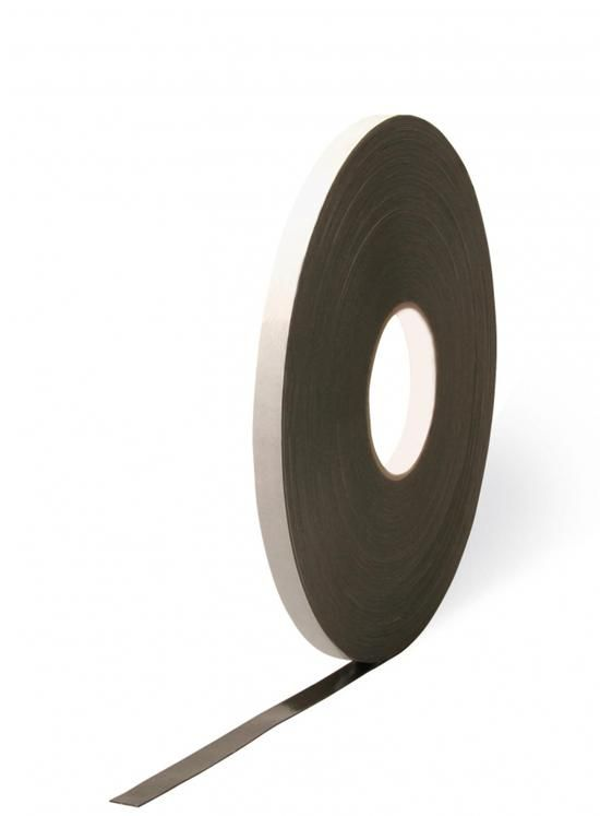 TN120 Oboustranně lepicí PE páska 0,8 x 4 černá Tremco illbruck