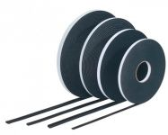 TN565 PVC páska 6 x 9 černá