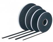 TN565 PVC páska 3 x 9 černá
