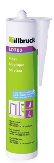 LD702 Akryl interiér bílá 310 ml Tremco illbruck