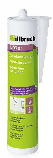 LD701 Strukturální akryl bílá 310 ml Tremco illbruck