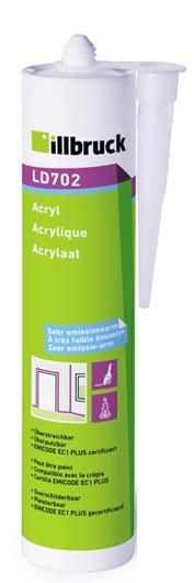 LD702 Akryl interiér šedá 310 ml Tremco illbruck