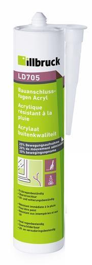 LD705 Akryl exteriér bílá 310 ml Tremco illbruck